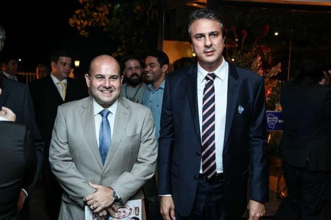 Roberto Cláudio e Camilo Santana