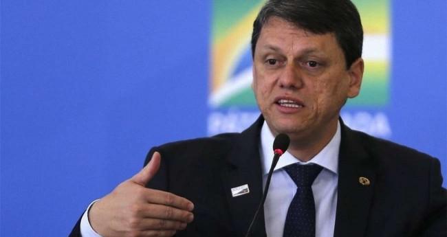 Ministro da Infraestrutura, Tarcísio de Freitas