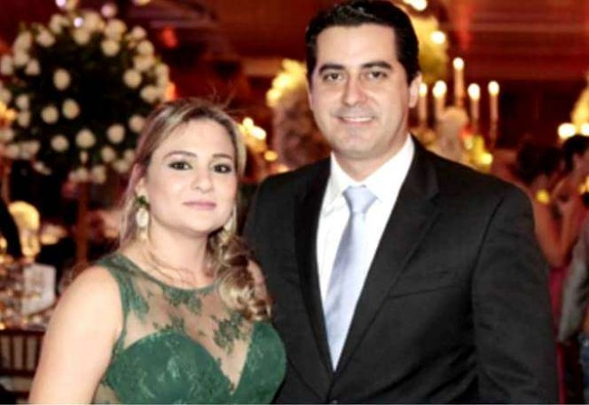 A advogada Emmanuelle Alves Ferreira da Silva e o marido, o juiz Aldo Ferreira da Silva Júnior