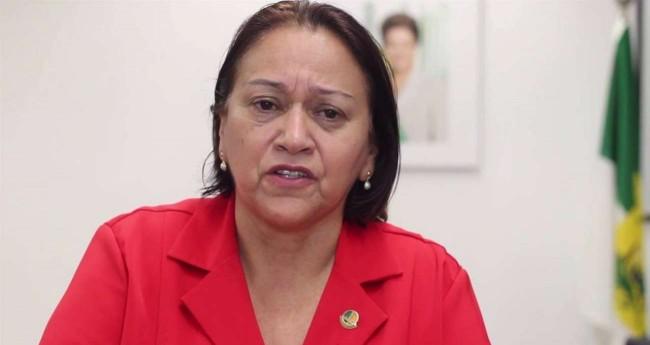 Governadora do RN, Fátima Bezerra