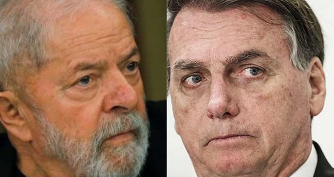 Fotomontagem: Lula e Jair Bolsonaro