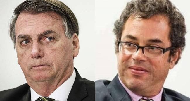 Fotomontagem: Jair Bolsonaro e Hélio Schwartsman