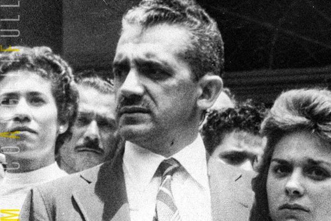Muniz Falcão, afastado 3 dias depois do tiroteio e reconduzido ao cargo semanas depois pelo STF.
