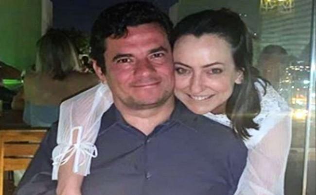Sérgio Moro e Rosângela