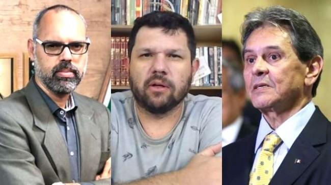 Fotomontagem: Allan dos Santos, Oswaldo Eustáquio e Roberto Jefferson