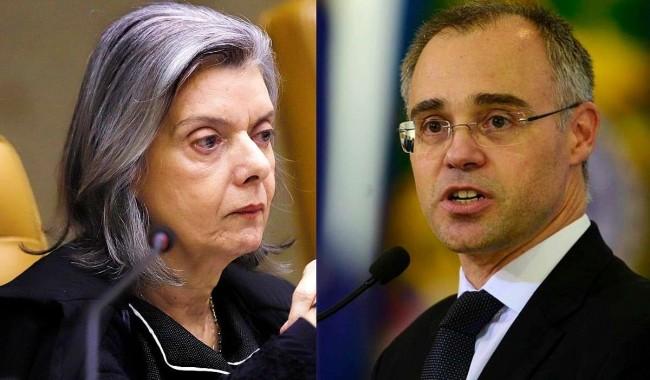 Fotomontagem: Cármen Lúcia e André Mendonça