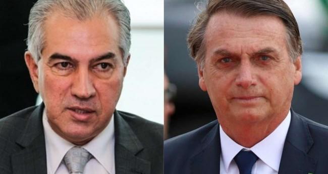 Fotomontagem: Reinaldo Azambuja e Jair Bolsonaro