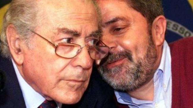 Foto reprodução: Leonel Brizola e Lula