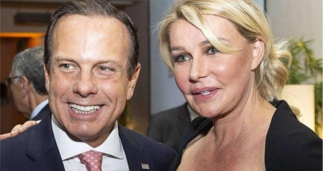 Governador de SP, João Doria e sua esposa Bia