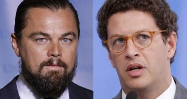 Fotomontagem: Leonardo DiCaprio e Ricardo Salles