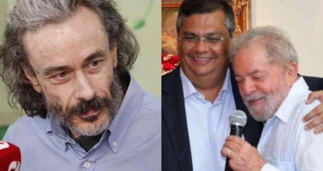 Fotomontagem: Guilherme Fiuza, Flávio Dino e Lula