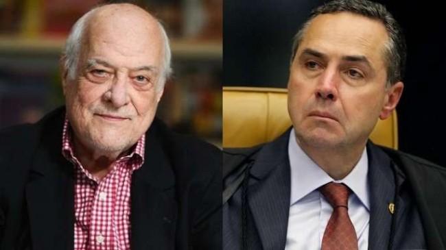 Fotomontagem: J.R. Guzzo e Luis Roberto Barroso