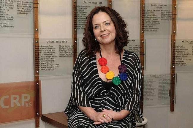 Ana Luiza de Souza Castro, presidente do CRPRS
