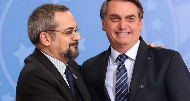 Abraham Weintraub e Jair Bolsonaro