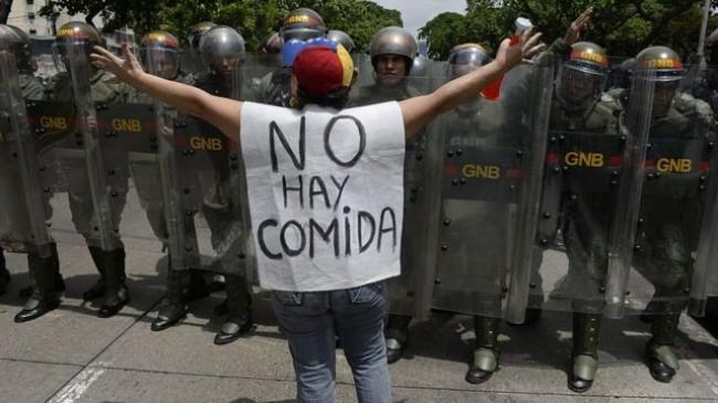 Fome na Venezuela - Divulgação