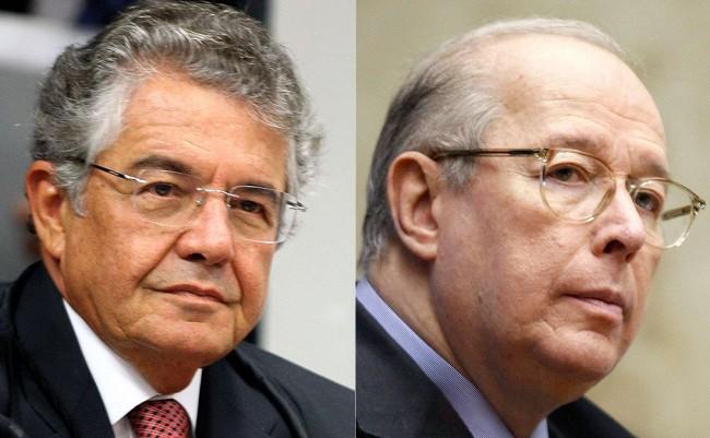 Fotomontagem: Marco Aurélio e Celso de Mello