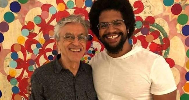 Caetano Veloso e Jones Manoel