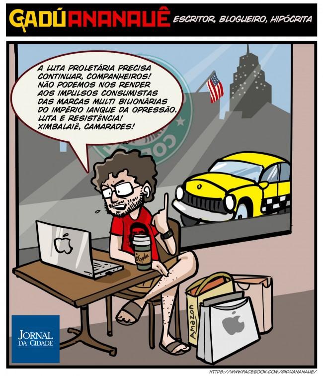 Cartoon de Leandro Spett