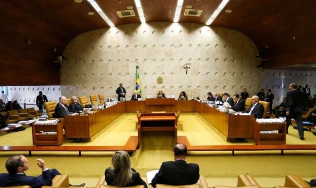 Supremo reunido - Crédito: Marcelo Camargo/Agência Brasil