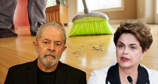 Fotomontagem: Lula e Dilma Rousseff