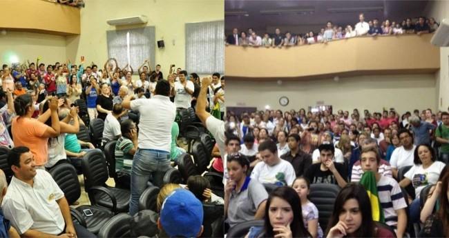 Foto Reprodução/2015 - Câmara de vereadores de Santo Antônio da Platina
