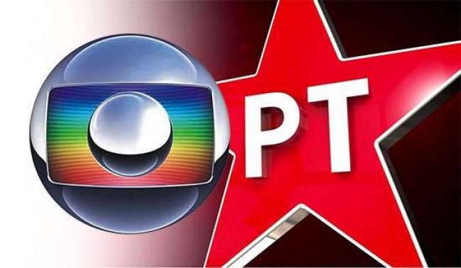 Foto Ilustrativa: Globo e PT