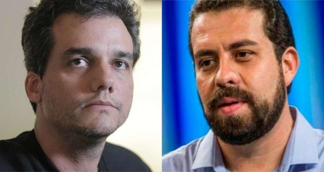 Fotomontagem: Wagner Moura e Guilherme Boulos