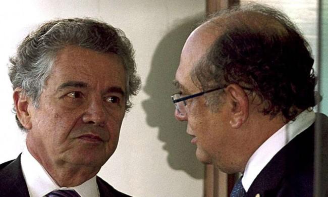 Marco Aurélio Mello e Gilmar Mendes