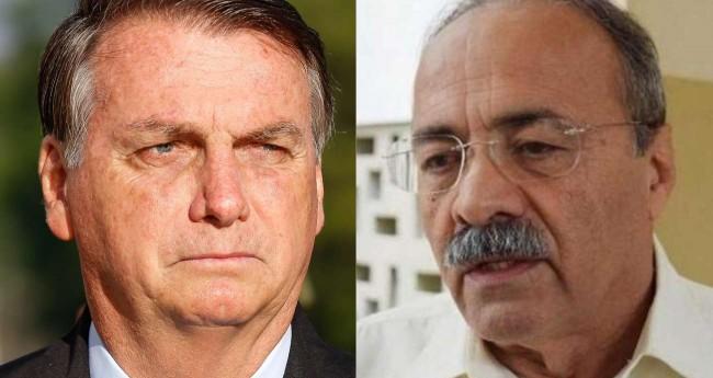 Fotomontagem: Jair Bolsonaro e Chico Rodrigues