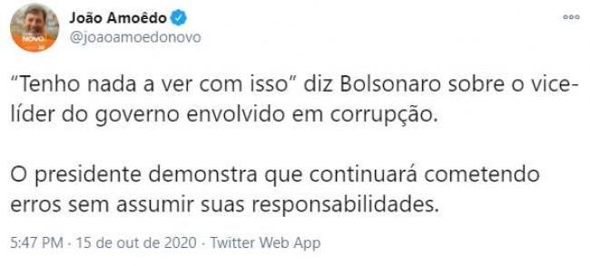 João Amoêdo e Marcelo Castro