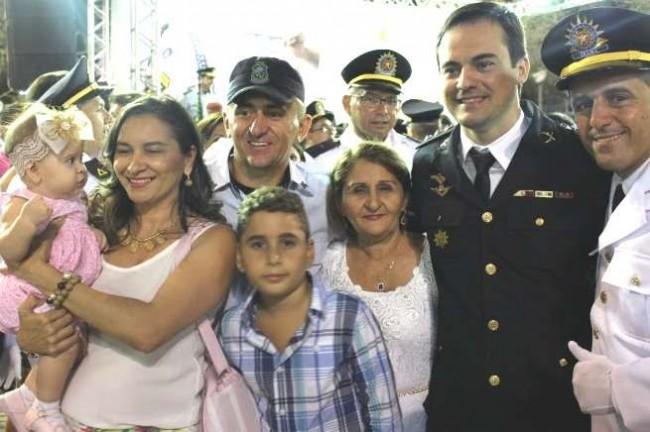 Capitão Wagner e familiares