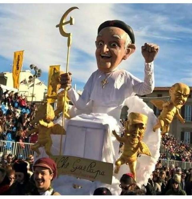 Papa comunista? - Reprodução internet