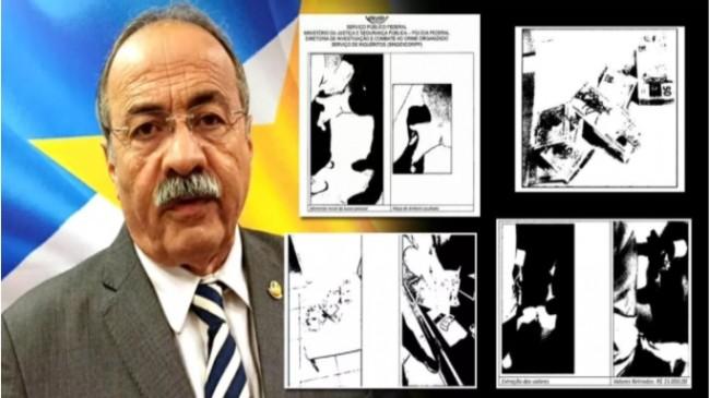 Fotos revelam o momento em que a PF retira dinheiro da cueca de Chico