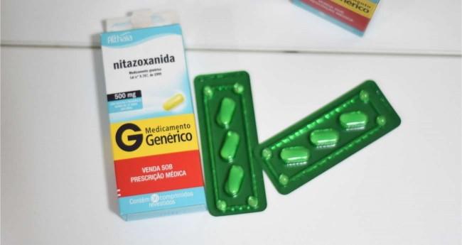 Foto Reprodução/Internet - Nitazoxanida