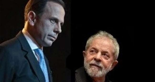 Foto Reprodução/Internet - João Doria e Lula