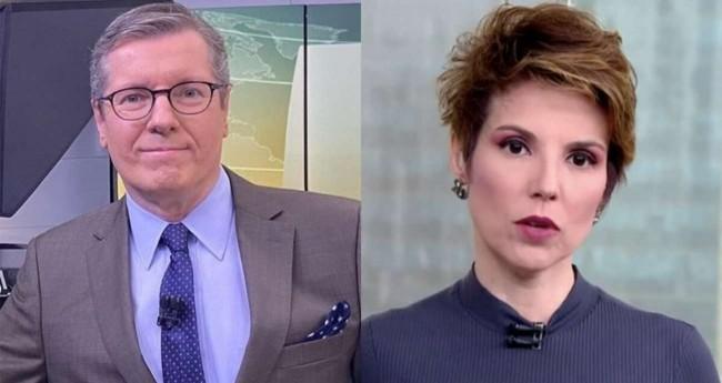 Márcio Gomes e Glória Vanique