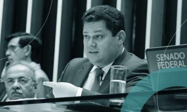 Chico Rodrigues e Davi Alcolumbre