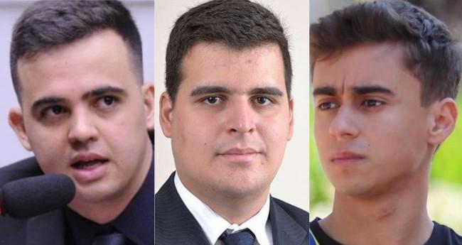Fotomontagem: Cabo Junio Amaral, Bruno Engler e Nikolas Ferreira