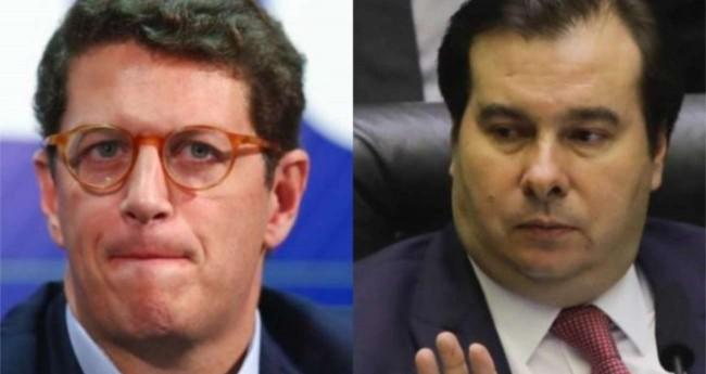 Ricardo Salles e Rodrigo Maia