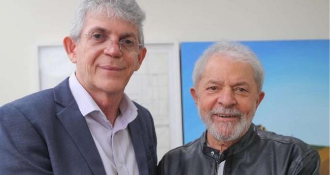 Ricardo Coutinho e Lula