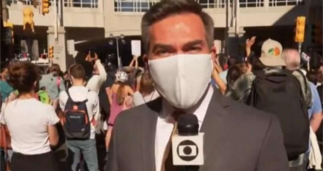 Repórter da Globo