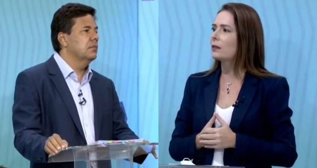Fotomontagem: Mendonça Filho e Delegada Patrícia