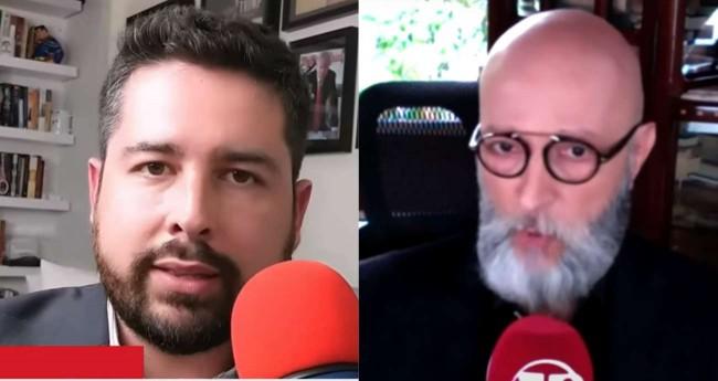 Paulo Figueiredo Filho e Josias de Souza