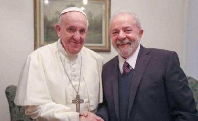 Reprodução Twitter Lula Oficial