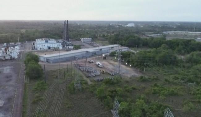 Usina termelétrica de Santana vai receber geradores — Foto: Rede Amazônica/Reprodução