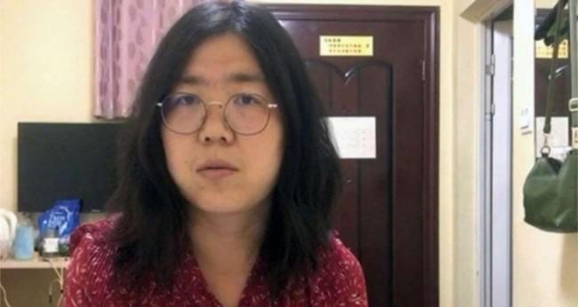 Jornalista Zhang Zhan