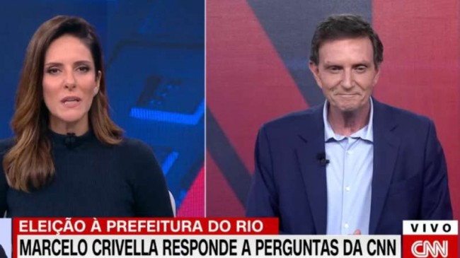 Marcelo Crivella na CNN