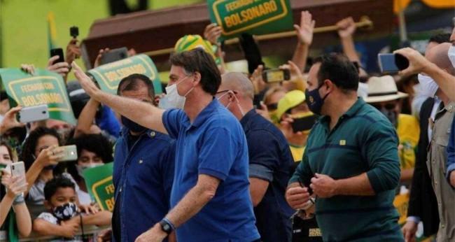 Jair Bolsonaro no Amapá