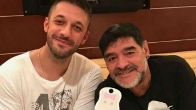 Matías Morla e Maradona