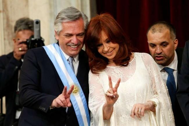 Alberto Fernández e Cristina Kirchner: juntos na destruição da Argentina – Reprodução internet